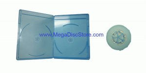 6mm Slim Line Viva Elite Blu-ray Double Case Free Shipping 12 Pack