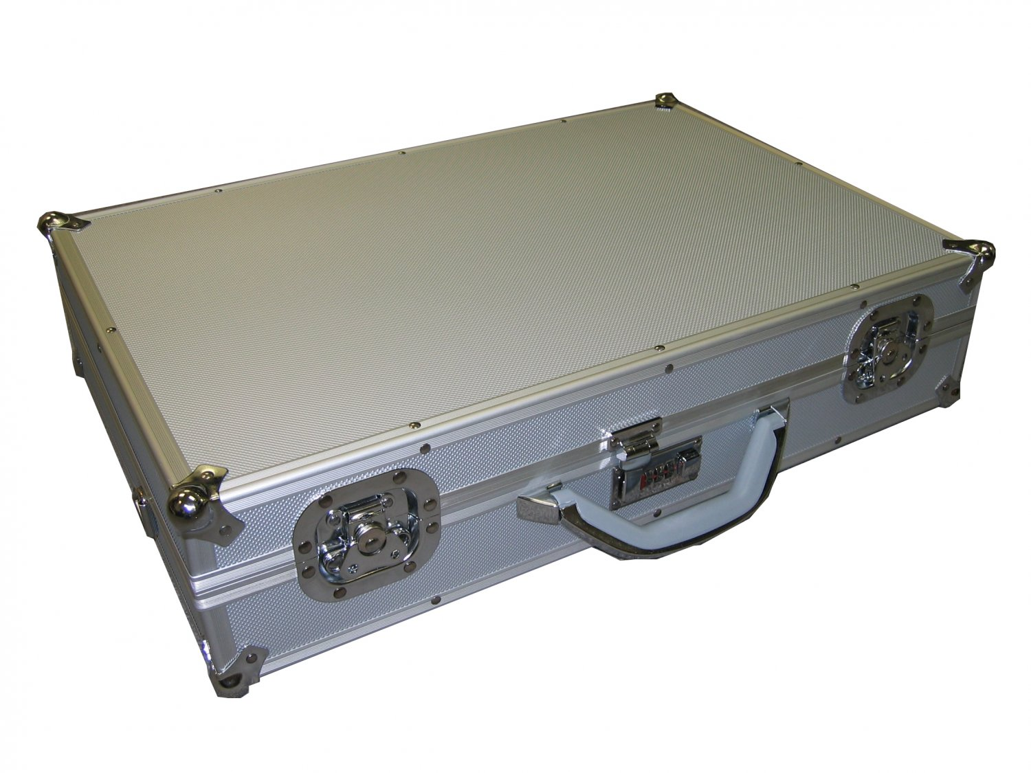 Silver Aluminum Multi purpose Case For Tool/Camera/Hardware and More Free Shipping
