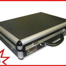 "Black Aluminum Laptop Breif Case for 15-17"" Notebook Ship to Canada And USA"