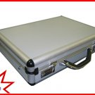 "Silver Aluminum Laptop Breif Case for 15-17"" Notebook Ship to Canada And USA"