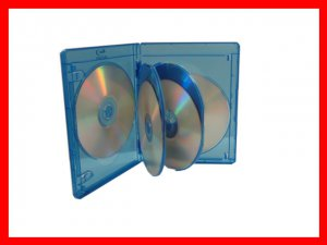 VIVA ELITE Hold 6 Discs Blu-Ray replacement case 5 Pack (6 Tray) Free Shipping