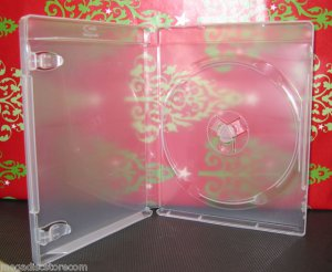 Premium PlayStation 3 Replacement Case PS3 Blu-Ray clear Holder Box 4 Pk Free Shipping