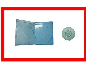 12 Pk VIVA ELITE Slim Blu-Ray Replacement Double Disc 6mm case hold 2 discs Box