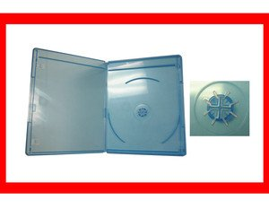 12 Pk VIVA ELITE Slim Blu-Ray Replacement Single Disc 6mm case hold 1 disc Box