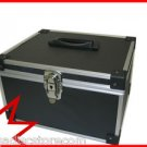 300 CD/DVD PREMIUM ALUMINUM STORAGE CASE BLACK FREE SHIPPING