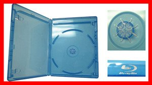 VIVA ELITE Blu-Ray Case Single 20Pk  Lower shipping cost to Canada customers