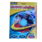 New Fellowes Neato CD DVD Labeling System with 120 Labels and install kit