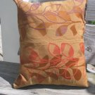 autumnal flower pillow