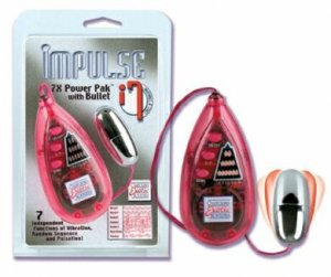 Impulse 7x Power Pak with Bullet