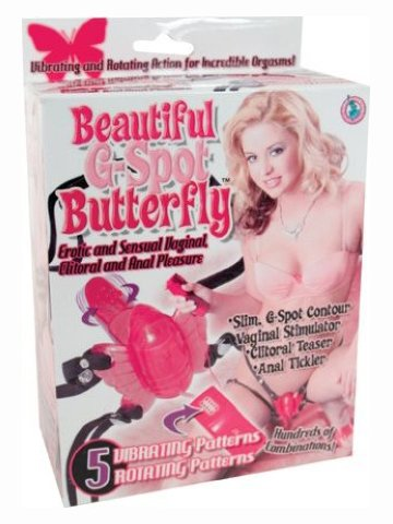 Beautiful G Spot Butterfly - Red