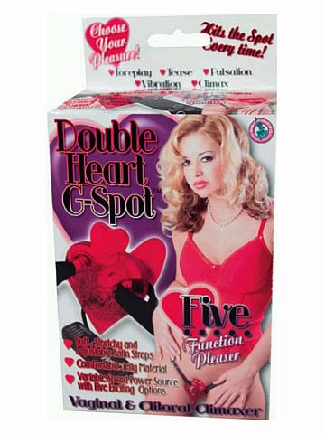 Double Heart G Spot - Red