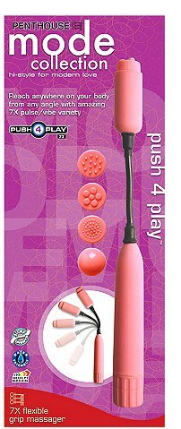 7x Flexible Grip Massager With Attachments
