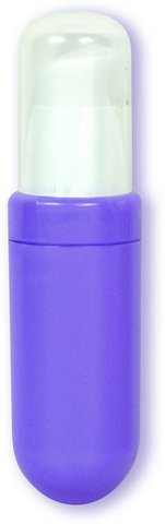 Duets Mini Vibrator and Lube - Purple