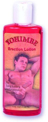 Yohimbe Erection Lotion