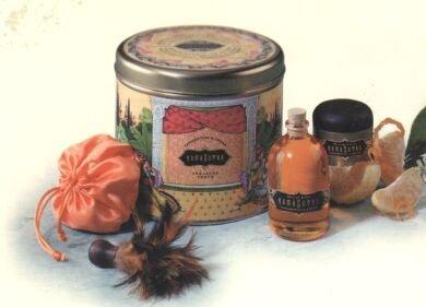 Kama Sutra Treasure Trove - Tangerine & Cream