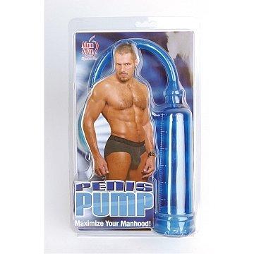 Adam and Eve Penis Pump - Blue
