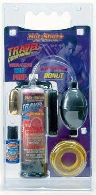 Hot Shots Travel Mini Pump - Vibrating