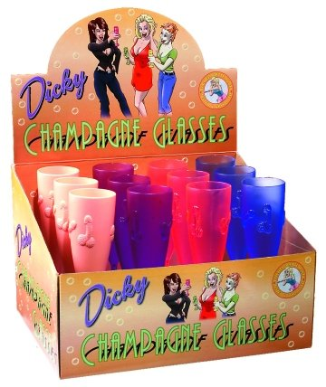 Dicky Champagne Glasses - Set of 12
