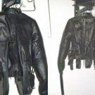 Leather Straight Jacket - Medium
