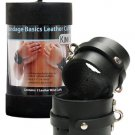 Kinklab Leather Wrist Cuffs