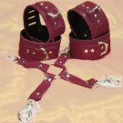 Leather Ankle to Wrist Restraint