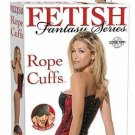 Rope Cuffs Black