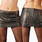 Leather Fetish Party Cheerleader Zipper Skirt - 3X