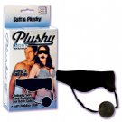 Plushy Gear Blindfold With Gag