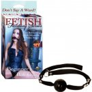 Fetish Fantasy Beginner Ball Gag Black