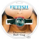 Diamond Ball Gag - Blue
