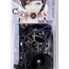 Ball Gag D Ring Violet Strap