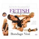 Fetish Fantasy Bondage Vest And Cuff Kit