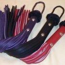 Short Leather Basic Purple