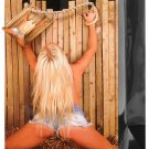 Blonde Girl Roped To A Fence Gift Bag