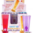 Light Up Peter Party Beer Glasses