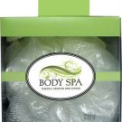 Mesh Body Spa Sponge - White