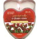 Edible A Dozen Roses Candle 4 oz
