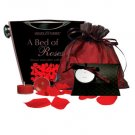 A Bed Of Roses Gift Set With Champagne Bucket