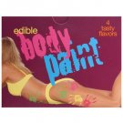 Edible Body Paint 4 pack