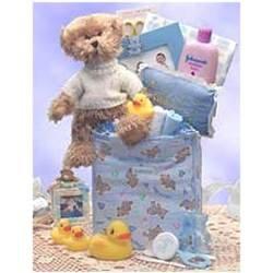 Baby Necessities Gift Bag - Blue