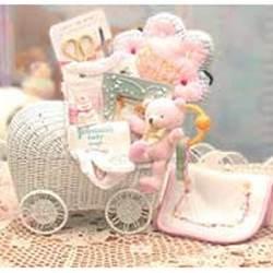 Bundle Of Joy Baby Carraige - Teal