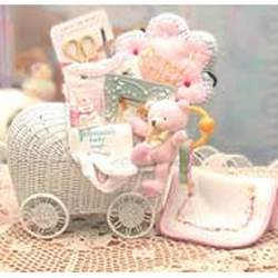 Bundle Of Joy Baby Carraige - Pink