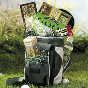 Tee Time Treats Gift Basket