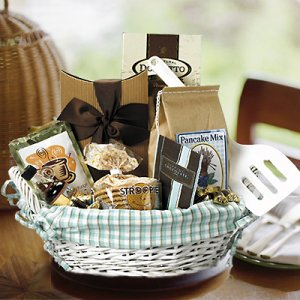 Breakfast Basket Gift Basket