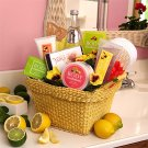 Citrus Spa Gift Basket