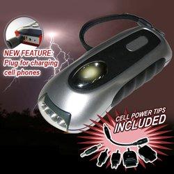 Dynamo 3-LED Flashlight