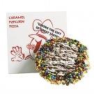 Caramel Popcorn Pizza Gift Basket