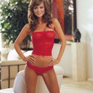 Stretch Lace Halter Camisole