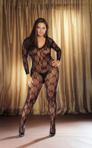 Bordeaux Body Stocking