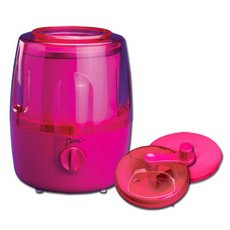 Deni Automatic Ice Cream Maker with Candy Crusher Raspberry